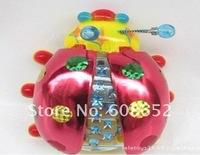 Wholesale-electrical plastic toys rich Beetle-Novelty & Gag Toys-Light-Up Toys/LED  Flash Music Toy -Solar Toys
