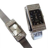 jewelry watch pen drive 1GB/2GB/4GB/8GB/16GB/32GB, free shipping!