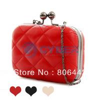 Ladies' Vintage Chain CrossBody Pattern Leather Shoulder Clutch Purse Handbag Evening Bag  dropshipping 3538