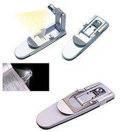 20pcs/lot Folding, Book Light, a small lamp, LED reading lights automatically based, multi-folded light, wholesale