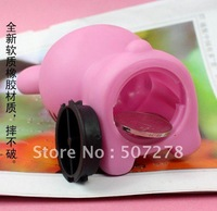 Hotsale! Hello Kitty Piggy Bank/Cartoon Piggy Bank/Plastic Coin Can,Free shipping (8piece/lot)