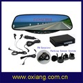 PROMOTION!super light and ultra-thin bluetooth car rearview mirror (OX-BR99)with 1650mAh Lithium battery +free shipping