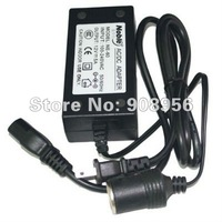 1 pcs AC220V to DC12V power adapter 5A/60W (easy conversion, the car home to enjoy life!) ,fast shipping