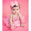 Free Shipping Newborn Infant Baby Girls Pettiskirt Tutu Skirt Dress NB-6M - Light Pink