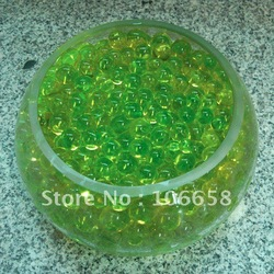 Free Shipping 100g/Lot Water Crystal Clear Flower Plants Water Nutrient Bio Gel Soil Family Adornment(China (Mainland))