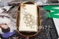 Costly case for iphone4 4 S shell drill ,shell phoenix LuoShui swarovski drill phone sets+free shipping