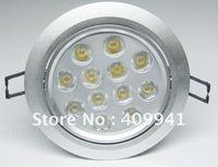 12*1W LED Down Light LED ceiling light