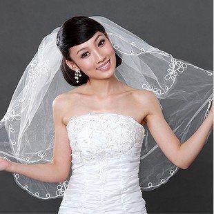 Free Shipping 100% Gurantee New Retail Veils/Elegant Veils/Wedding Veils