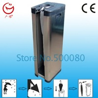 CE of fashion single head wet umbrella machine with plastic bag
