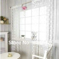 Free Shipping White String Curtain Thread Door & Window Curtain Home decoration Heart