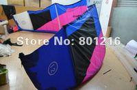 9sqm C kitesurfing with one pump system+4 line kite bar+leash+kite bag