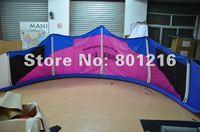 12sqm C kitesurfing with one pump system+4 line kite bar+Leash +kite bag