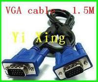 High quality 5ft VGA cable  ,50pcs/lot