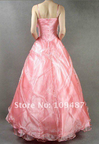 2014 new wedding dress bridal wedding dress princess pink dress