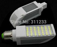 Free shipping E27/G24 LED dowlight ( 35leds, 7watt, 700 lumens) 7-14W for Choices