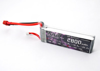 HRB--YS 7.4v 2800mah 40c 2S lipo battery for RC airplanes + free shipping