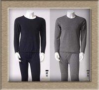 Free shipping - women long underwear suit, men underwear, long johns suit, bamboo fibre, solid color,pajamas, M L, XL, XXL #294