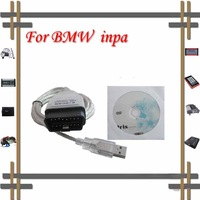 free shipping for BMW cable INPA K+CAN interface 2011newest ver SUPER QUALITY
