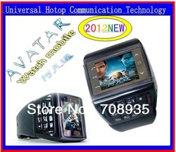 et1 et-1 watch mobile phone AVATAR quadband touch screen with number keypad FREE SHIPPING Nuevo Reloj Telefono Movil(China (Mainland))