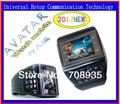et1 et-1 watch mobile phone AVATAR quadband touch screen with number keypad FREE SHIPPING Nuevo Reloj Telefono Movil