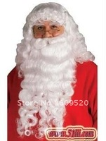 Santa Claus Costume Complete Beard Wig and Eyebrow set!