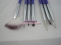 7pcs/set professinal Nail Art Design Brush Set Painting Pen /Nail Brush Set  Free Shipping