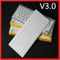 free shipping+Free shipping Wireless Bluetooth Keyboard for PC Laptop Apple Macbook iPad 2