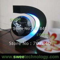 Electronic Magnetic Levitation Floating Globe Antigravity magic/novel light Christmas Gift Xmas Decoration Santa Decor Home