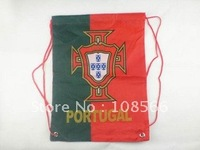 wholesale Portugal green and red alternate with sports bag / backpack bag sport backpacks 10pcs