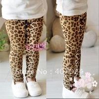 2012 New Spring & Autumn girls leggings children pants leopard 20pcs kids pants 570001