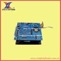 1 pcs of 80G 2100 In 1 Game Board, VGA output, Intel G31 Motherboard, Celeron Daul-Core CPU,1G DDR II memory