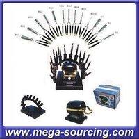 FEDEX Free shipping Wholesale Golden Supreme Hair Curling Oven set 4 sets/lot