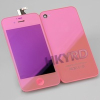 Pink Plating LCD Display&Touch Screen Digitizer set+Back Housing Assembly for iPhone 4S BA090
