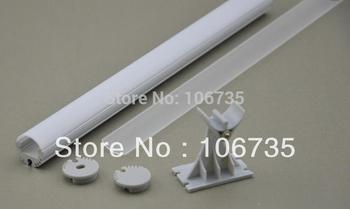 Free shipping big discount LED Extrusion cover, LED profile for shelves, LED wardrobe profile, aluminum furniture LED profile