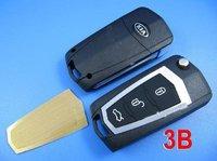 Kia New Jiale Flip Remote Key Shell 3 Button ( Battery Separation)  ,Auto remote key shell, Locksmith Tools