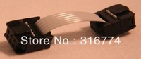 Freeshipping 10pcs 6pin IDC Flat Ribbon Cable wire for ISP JTAG
