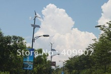 400w wind turbine with 5 blades can start at low wind speed max power is 500w ,best for street light lamps(China (Mainland))