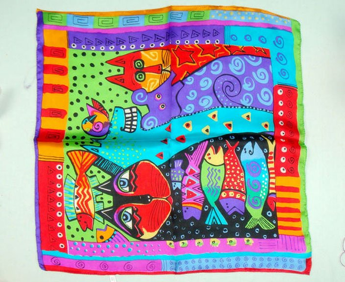 "Colorful Design Silk Scarf For Women Pretty Print Scarf New Trend Beautiful 100% Silk Square Scarf Shawl 21.6"" Warp XF33097(China (Mainland))"