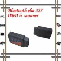 20pcs/lot free shipping Super Hotsale ELM327 ELM 327 Bluetooth OBD/OBDII diagnostic cable