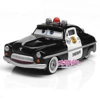 100% original!!! 1:55   Pixar Cars diecast toy sheriff    free shipping