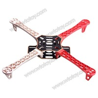 4-axis HJ450 Multi Flame Wheel Flame Strong Smooth KK MK MWC Quadcopter  11275