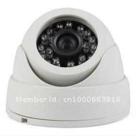 2012 New Cheap at High Quality Free Shipping 24 LED IR Night Vision  CCTV Camera