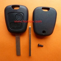 High Quality Hot-selling Citroen 2 button remote key blank with 307 key blade (without logo) with free shipping 60%