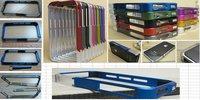 Wholesale New Vapor Pro Spectra case for iphone4,Vapor Pro Bumper Case for iphone 4S, Aluminium Bumper Case
