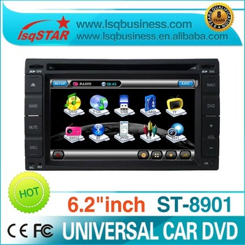 Free shipping 3G function HYUNDAI / NISSAN Car Monitor DVD Device with gps bluetooth Radio TV USB IPOD ST-8901