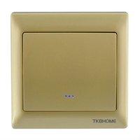 TKBHOME TZ66S (Gold) z-wave wireless lighting control On/Off  Europer  single switch