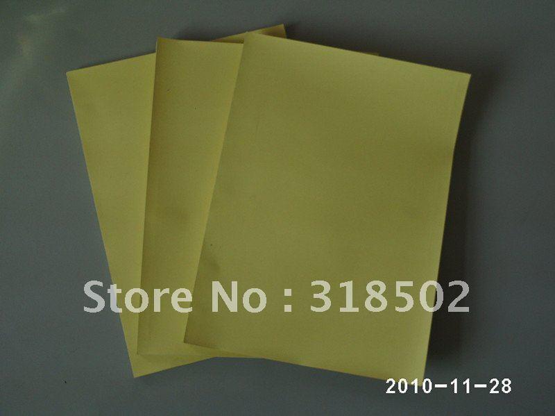 sticky pad yellow coated paper(China (Mainland))