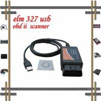 Free shipping wholesale elm327 usb elm 327