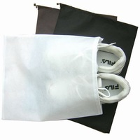 EMS free shipping 30pcs/Lot Shoe bag ,non woven ,Travel storage bag,Travel organizer drawstring shoe bags,Wholesale,