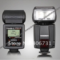 YONGNUO Upgraded TTL Multi Speedlite Flash Unit YN-468II YN-468 II for Nikon D7000 D5000 D5100 D3000 D3100